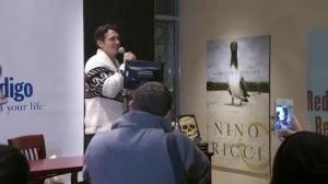 James Franco at Vancouver book signing